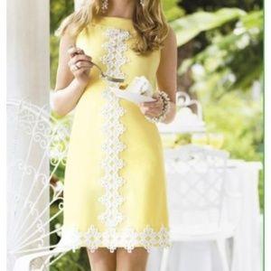 Lilly Pulitzer Vintage Jacqueline Shift Dress Sz 2